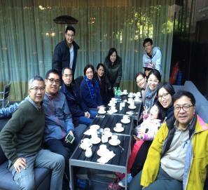 Lunch with HCF HongKong